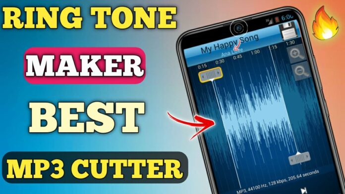 MP3 Cutter and Ringtone Maker App