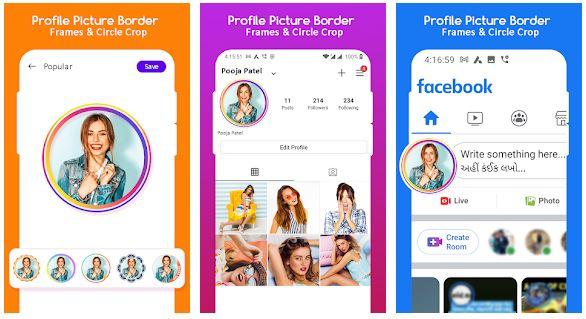WhatsApp Profile Picture Border
